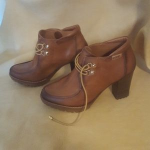 Pikolinos leather boots shoes size 37